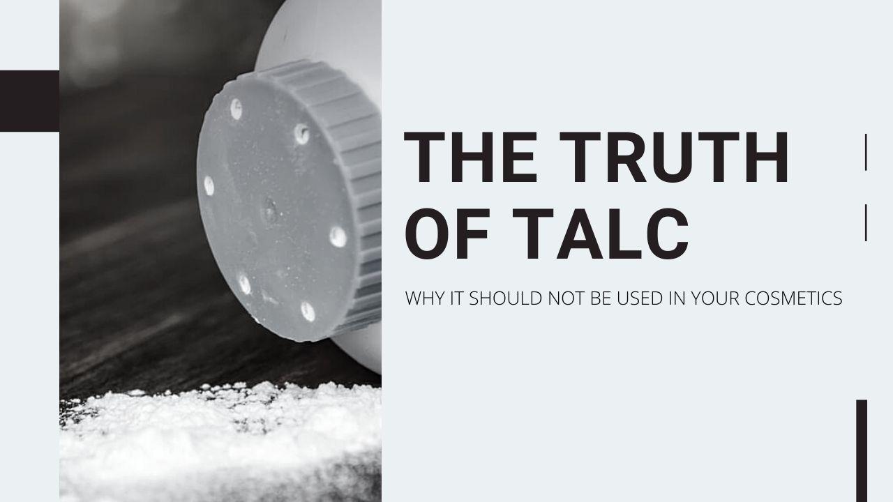 the truth of talc powder - blog banner SG